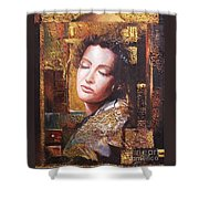 Because You Are Beautiful Shower Curtain by Sinisa Saratlic