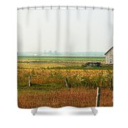 Before The Sweat Shower Curtain by Aimelle