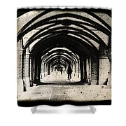 Berlin Arches Shower Curtain by Andrew Paranavitana