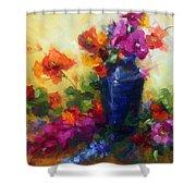 Best Friends Shower Curtain by Talya Johnson