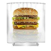 Big Mac Shower Curtain by Geoff George
