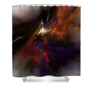 Birth of a thought Shower Curtain by David Lane