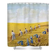 Bishop Hill Colony, 1875 Shower Curtain by Granger