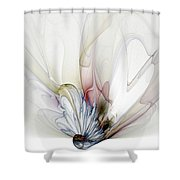 Blow Away Shower Curtain by Amanda Moore