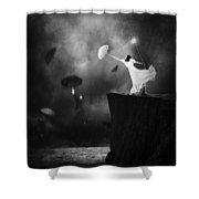 Blowin' In The Wind Shower Curtain by Erik Brede