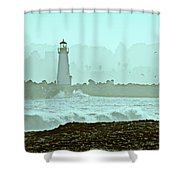 Blue Mist 2 Shower Curtain by Marilyn Hunt