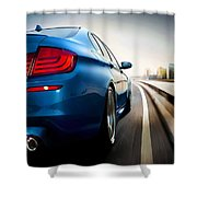 BMW Shower Curtain by Lanjee Chee