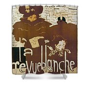 BONNARD REVUE 1894 Shower Curtain by Granger