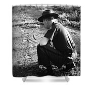 Border Patrol Inspector Shower Curtain by Granger