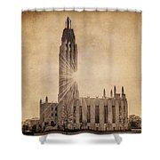 Boston United Methodist Church Shower Curtain by Tamyra Ayles