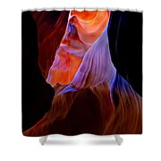 Bottled Light Shower Curtain by Mike  Dawson