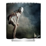 Bound Shower Curtain by Mary Hood