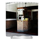 Box Office 1 Shower Curtain by Marilyn Hunt