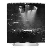 Boxing Match, 1941 Shower Curtain by Granger