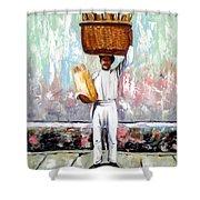 Breadman Shower Curtain by Jose Manuel Abraham