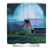 Breath Of Winter Shower Curtain by Jan Amiss Photography