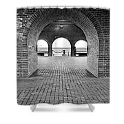 Brick Arch Shower Curtain by Greg Fortier