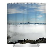Brigadoon Shower Curtain by Donna Blackhall