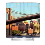 Brooklyn Shower Curtain by Mitch Cat
