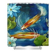 Bubble Maker Shower Curtain by Carol Sweetwood