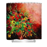 Bunch Of Flowers 0507 Shower Curtain by Pol Ledent