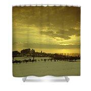Burg Stolpen Shower Curtain by Stolpen