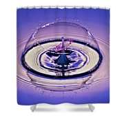 Bursting My Bubble Shower Curtain by Susan Candelario