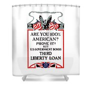 Buy U.S. Government Bonds Shower Curtain by War Is Hell Store