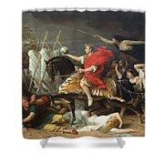 Caesar Shower Curtain by Adolphe Yvon