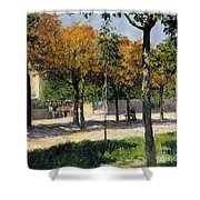 Caillebotte: Argenteuil Shower Curtain by Granger