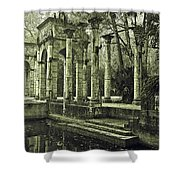 Calle Grande Ruins Shower Curtain by DigiArt Diaries by Vicky B Fuller