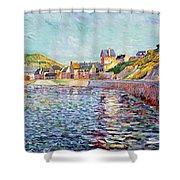Calvados Shower Curtain by Paul Signac