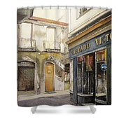 Calzados Victoria-leon Shower Curtain by Tomas Castano