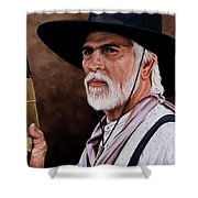 Captain Woodrow F Call Shower Curtain by Rick McKinney