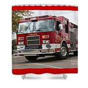 Carlock Fpd Shower Curtain by Roger Look