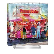 Carnival - The Variety Is Endless Shower Curtain by Mike Savad
