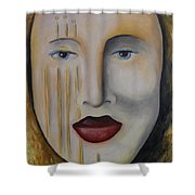 Carnival 1 Shower Curtain by Leah Saulnier The Painting Maniac