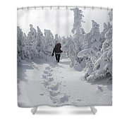 Carter Dome - White Mountains New Hampshire Shower Curtain by Erin Paul Donovan