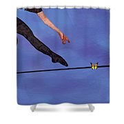 Catching Butterflies Shower Curtain by Steve Karol