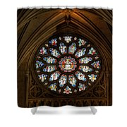 Cathedral Window Shower Curtain by Adrian Evans