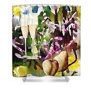 Celebration Shower Curtain by Sarah Loft
