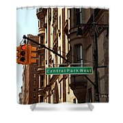 Central Park West Shower Curtain by Madeline Ellis