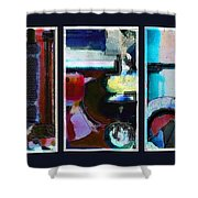 Centrifuge Shower Curtain by Steve Karol