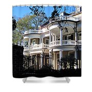 Charlestons beautiful architecure Shower Curtain by Susanne Van Hulst