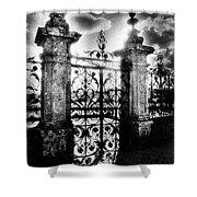 Chateau De Carrouges Shower Curtain by Simon Marsden