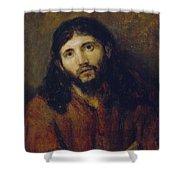 Christ Shower Curtain by Rembrandt Harmensz van Rijn