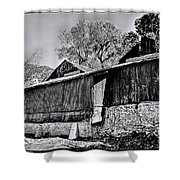 Cider Mill Shower Curtain by Tommy Anderson