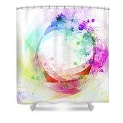Circle Of Life Shower Curtain by Setsiri Silapasuwanchai
