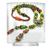 Circus Shower Curtain by Barbara Berney