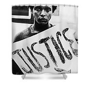 Civil Rights, 1961 Shower Curtain by Granger